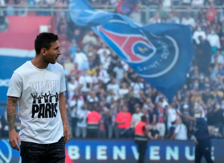 Messi vor PSG-Sieg gegen Straßburg erneut gefeiert