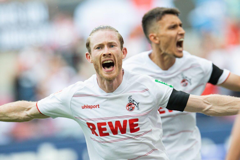 Baumgart in Köln gefeiert: Einstands-Sieg gegen Hertha BSC