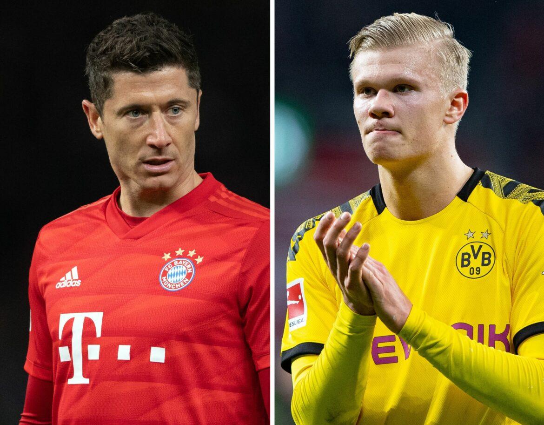 Lewandowski – Haaland: Nagelsmann verweist auf Konstanz