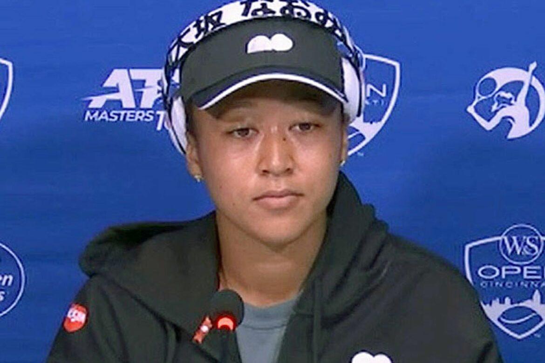 Tennis-Star Osaka weint auf Pressekonferenz