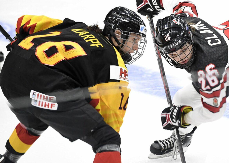 Zweiter Sieg bei WM für deutsche Eishockey-Frauen