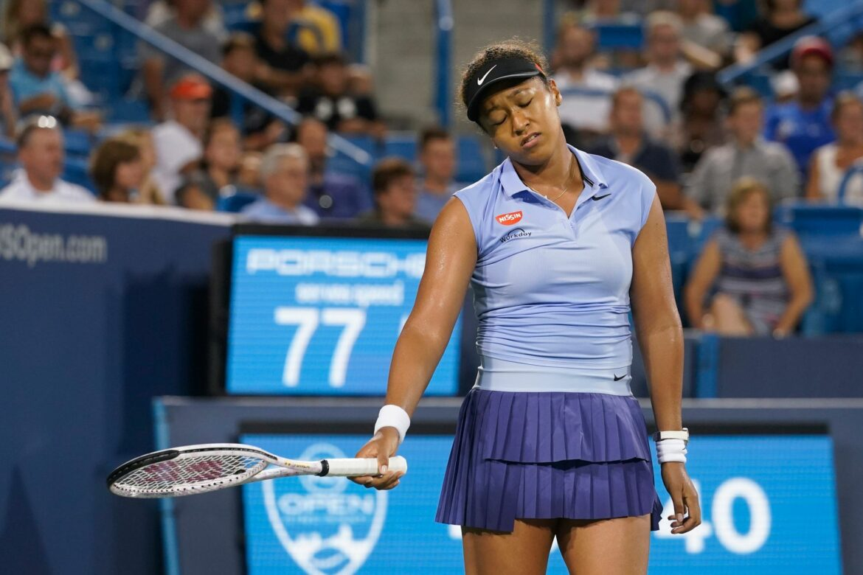 Osaka verliert Achtelfinale bei WTA-Turnier in Cincinnati