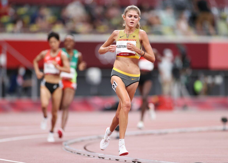 Klosterhalfen schnellste deutsche Läuferin über zwei Meilen