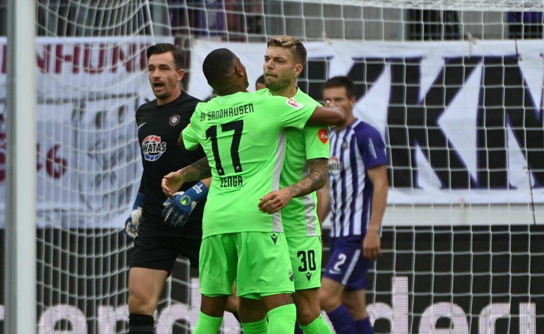 Sieg gegen Aue: Erster Saisonerfolg für Sandhausen