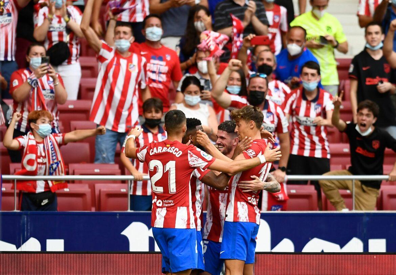 Meister Atlético Madrid auch im zweiten Liga-Spiel siegreich