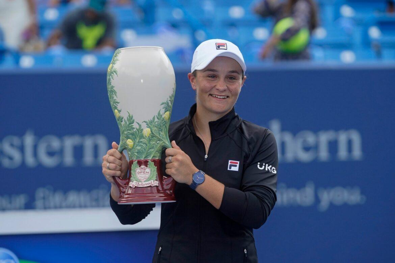 Wimbledondsiegerin Barty gewinnt Turnier in Cincinnati