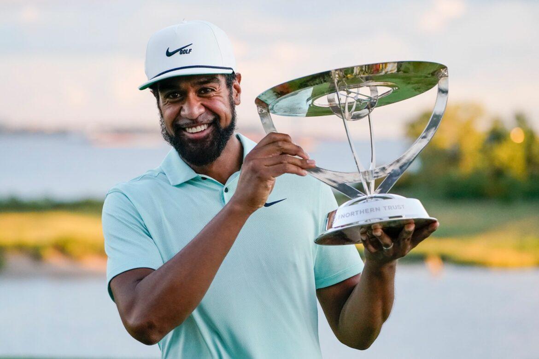 Golfer Finau gewinnt erstes FedExCup-Playoff-Turnier