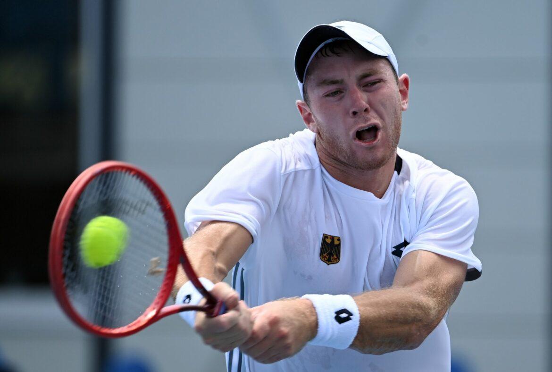 Tennisprofi Koepfer in Winston-Salem im Achtelfinale