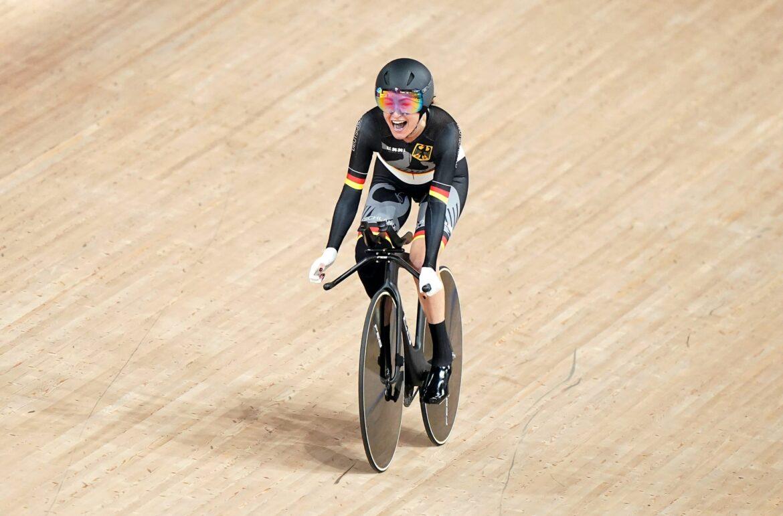 Bronze:Radsportlerin Schindler holt erste Medaille