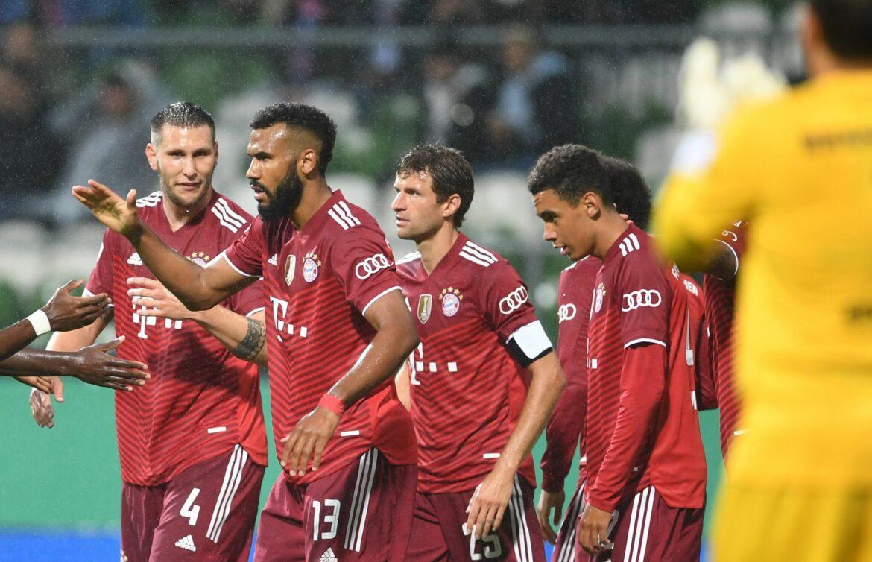 Zweistellig in Bremen: Bayern mühelos in Runde zwei