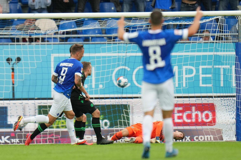 Hannover erlebt herbe Pleite bei Darmstadt 98