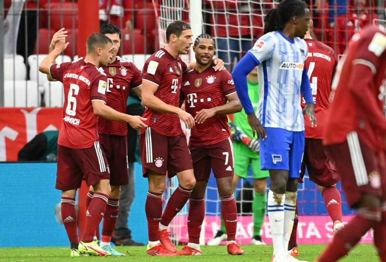 Leverkusen vorerst an der Spitze – Bayern schon fast dran
