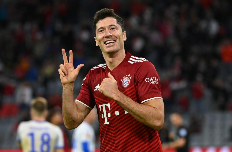 Bayern machen Hertha locker nass – Lewandowski-Dreierpack