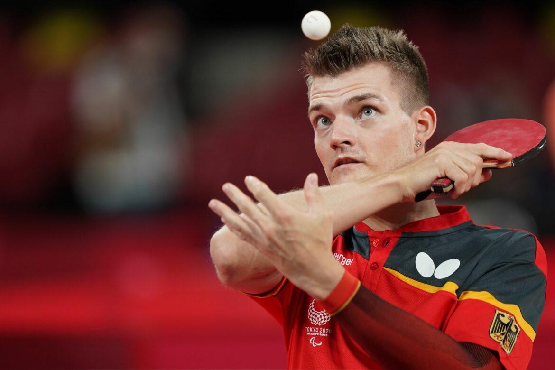 Tischtennis-Ass Schmidberger spielt um Para-Gold