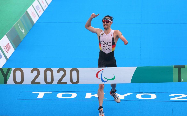 Gold bei den Paralympics: Triathlet Schulz siegt fürs Team