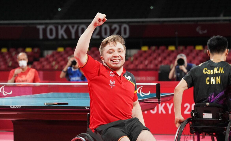 «Unbeschreiblich»: Tischtennisspieler Baus holt Para-Gold