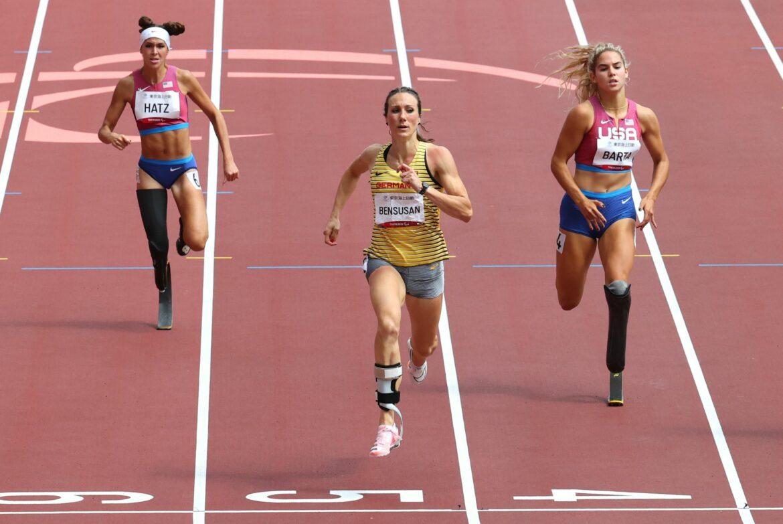 SprinterinBensusan holt Silberüber 200 Meter