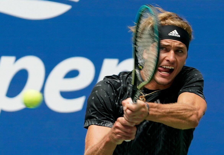 Perfekter US-Open-Start für Olympiasieger Zverev