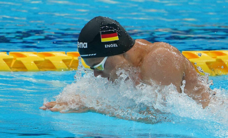 Weltrekord-Mann Engel und Krawzow schwimmen zu Gold