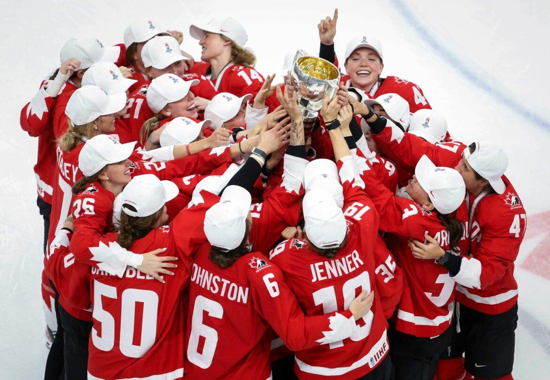 Eishockey-Frauen aus Kanada gewinnen WM-Endspiel gegen USA