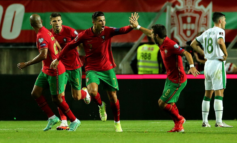 Historischer Portugal-Doppelpack für Cristiano Ronaldo