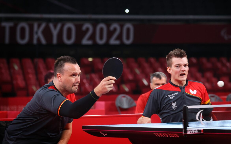 Trauer nach Tischtennis-Drama: Duo gibt Gold aus den Händen