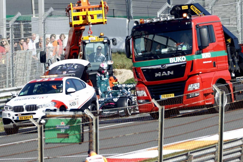 Vettel-Panne sorgt für Trainingspause in Zandvoort