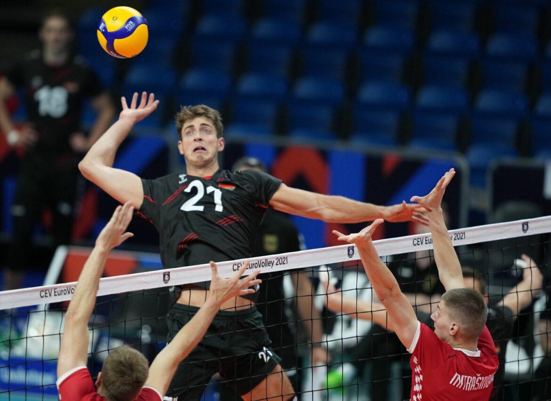 Deutsche Volleyballer feiern EM-Auftaktsieg