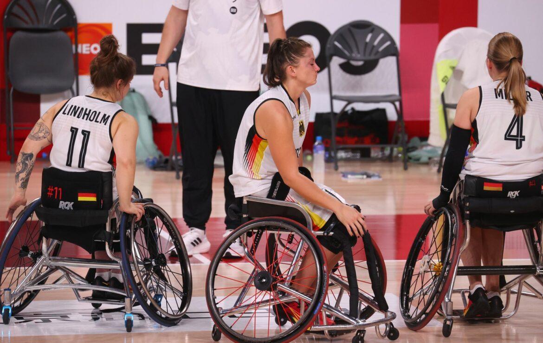 Deutsche Rollstuhl-Basketballerinnen verpassen Bronze