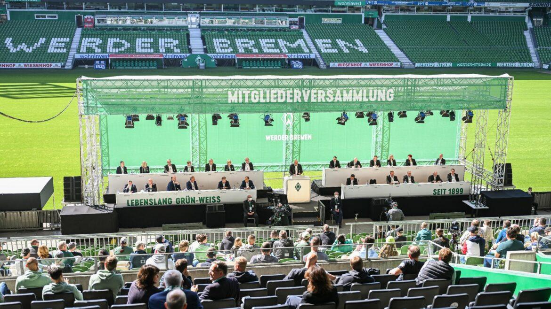 Pandemie und Abstieg: Werder präsentiert Millionen-Defizit