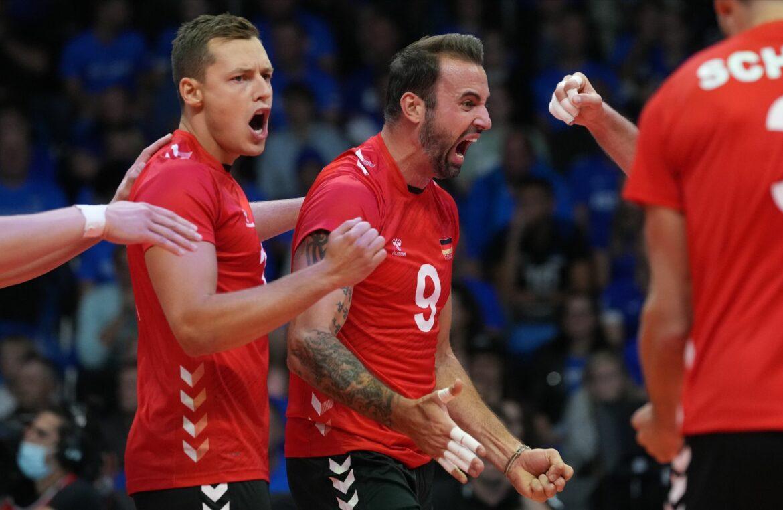Deutsche Volleyballer nach zweitem EM-Sieg ohne Satzverlust