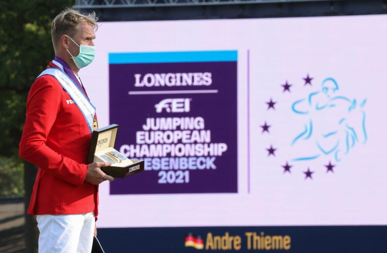 Beerbaum lobt EM-Sieger Thieme nach Gold beim Debüt