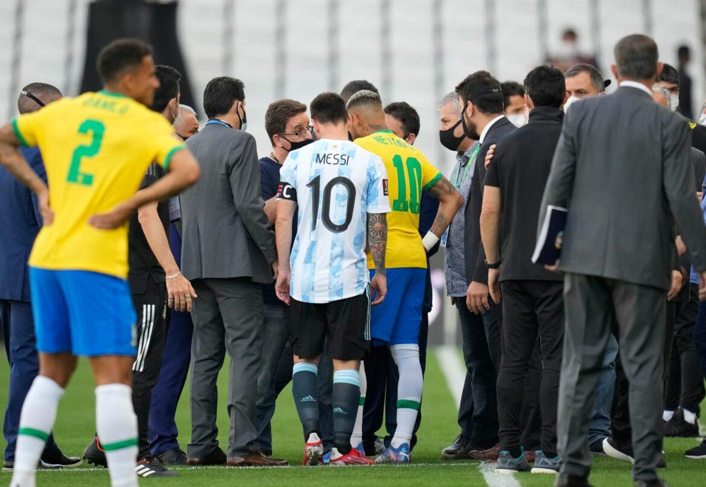 Messi und Neymar mittendrin: Der Abbruch-Eklat von São Paulo