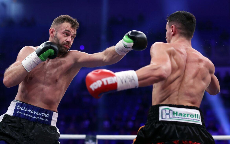 Boxen: 5000 Zuschauer bei WM-Kampf Krasniqi gegen Bösel