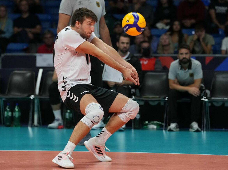 Ohne Grozer:Erste EM-Niederlage für deutsche Volleyballer