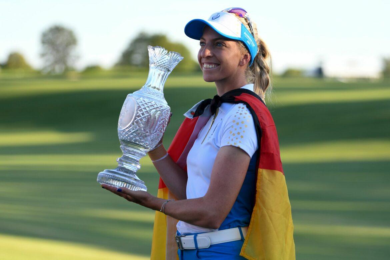 Europas Golferinnen gewinnen erneut den Solheim Cup