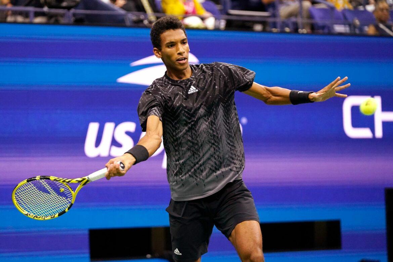 Kanadier Felix Auger-Aliassime im Halbfinale der US Open