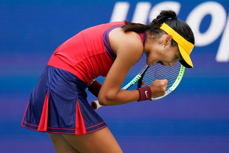 USOpen: Qualifikantin Raducanu überraschend im Halbfinale