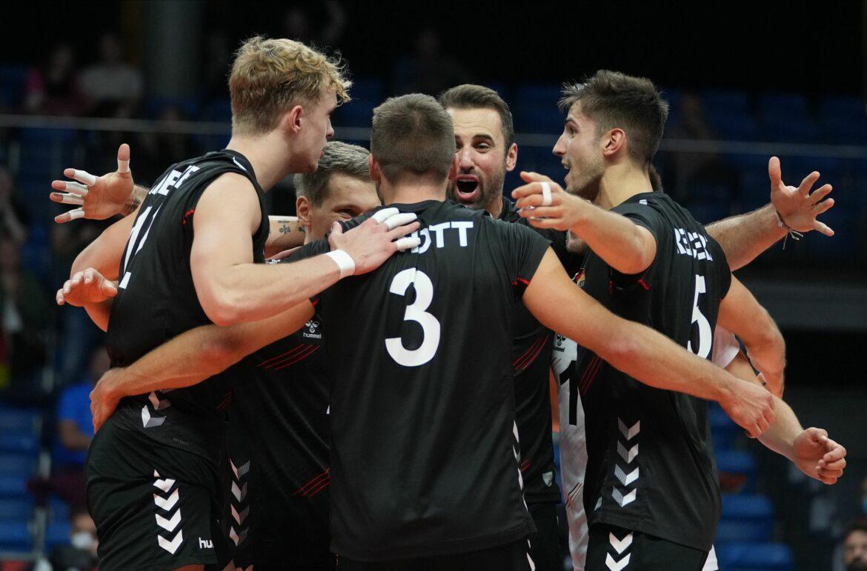 Deutsche Volleyballer siegen zum Gruppenphasen-Abschluss