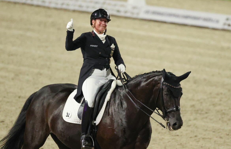 Medaille für Werth nach Schock:Kolik bei Lieblingspferd