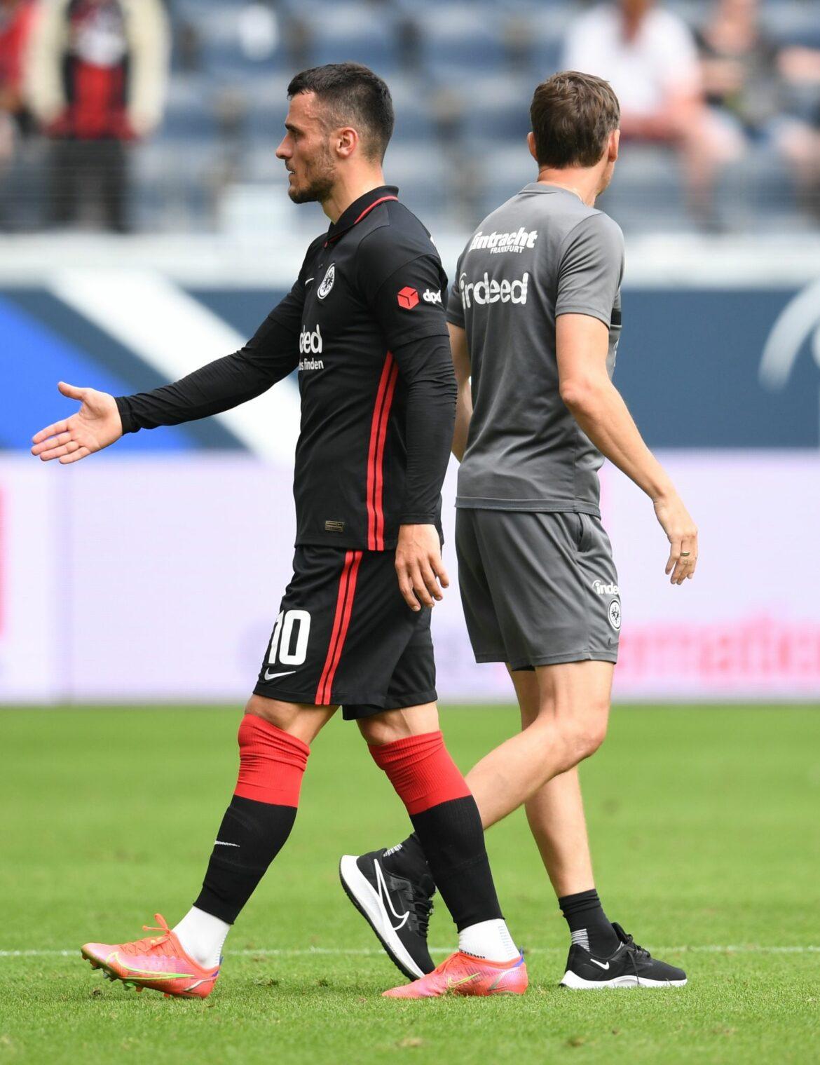 Eintracht-Coach Glasner lässt Einsatz von Kostic offen