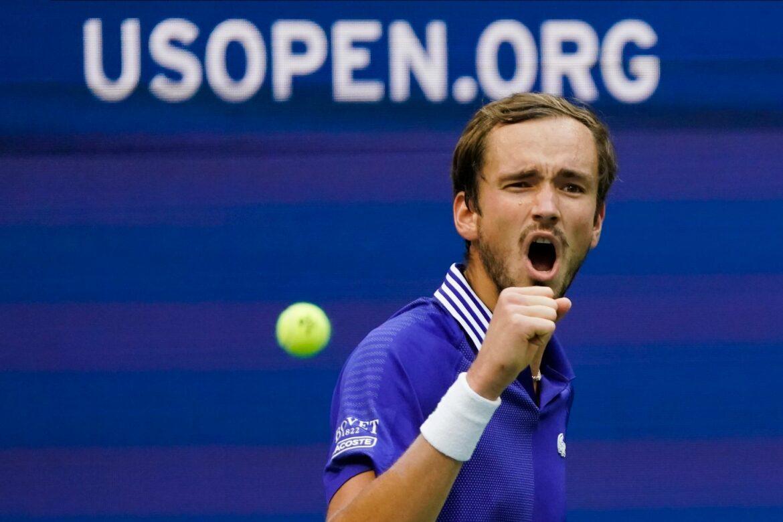 Medwedew zum zweiten Mal im Finale der US Open