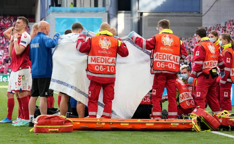 Spielabbruch in Dänemark – Fußballprofi kollabiert
