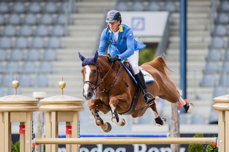 Ahlmann bei Global Champions Tour in Rom auf Platz zwei