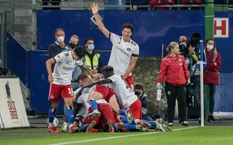 HSV müht sich zum Sieg gegen Sandhausen