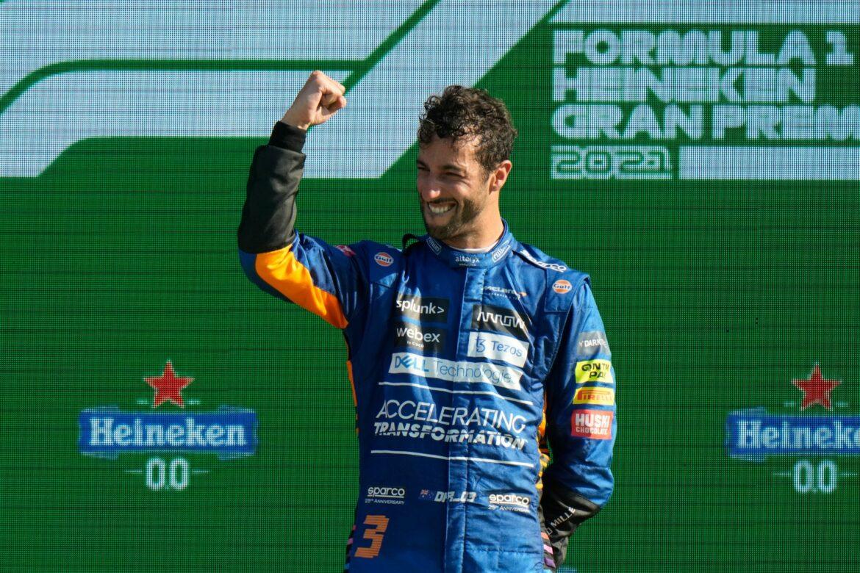 Ricciardo-Sieg in Monza – Crash von Verstappen und Hamilton