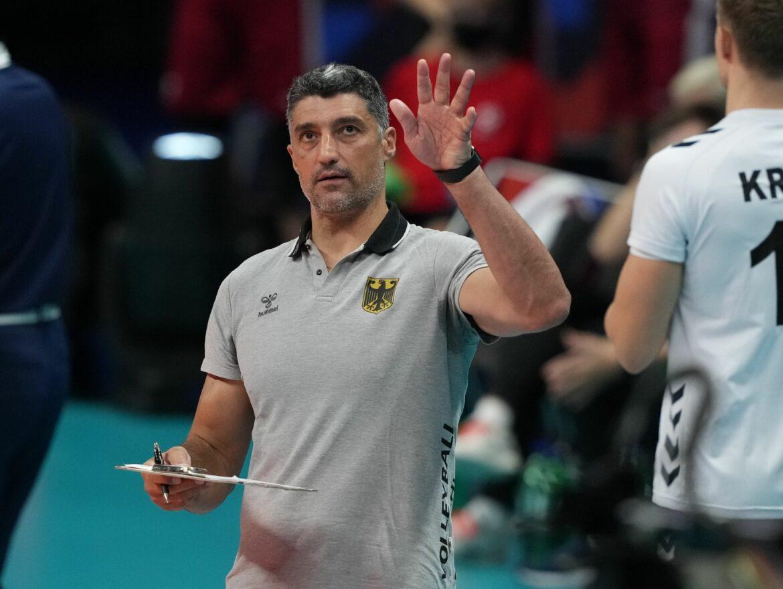 Deutsche Volleyballer peilen EM-Halbfinale an