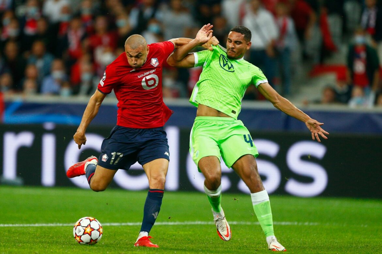 Schwacher VfL Wolfsburg rettet in Lille Punkt in Unterzahl