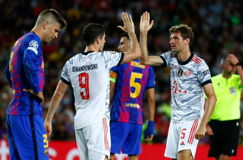 FC Bayern demütigt Barcelona erneut: Klarer Sieg im Camp Nou