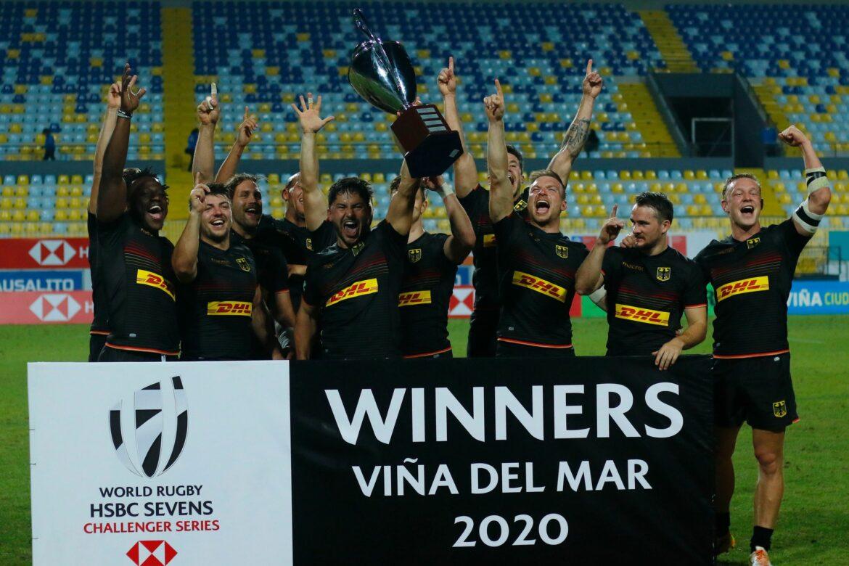 Rugby: Deutsches Siebener-Team startet bei World Series